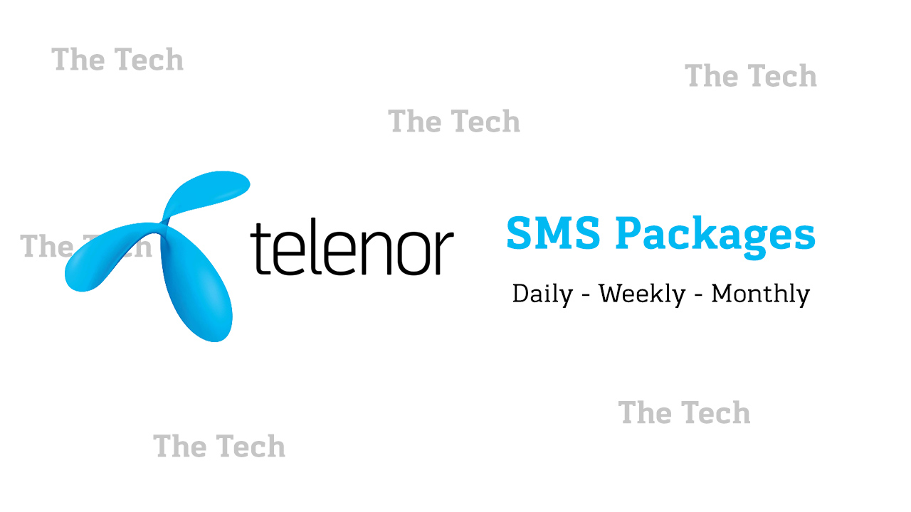 Telenor SMS Packages 1