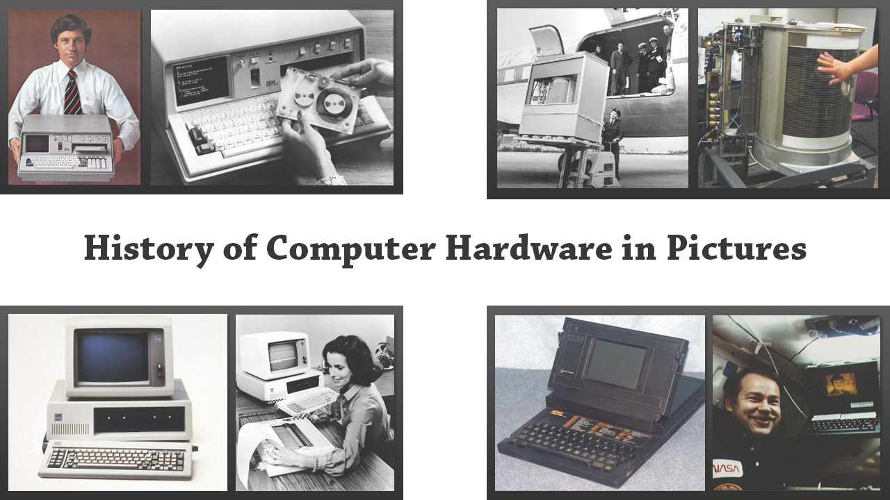 an overview of the computer history and parts History of computers this chapter is a brief summary of the history of computers it is supplemented by the two pbs documentaries video tapes inventing the future and the paperback computer.