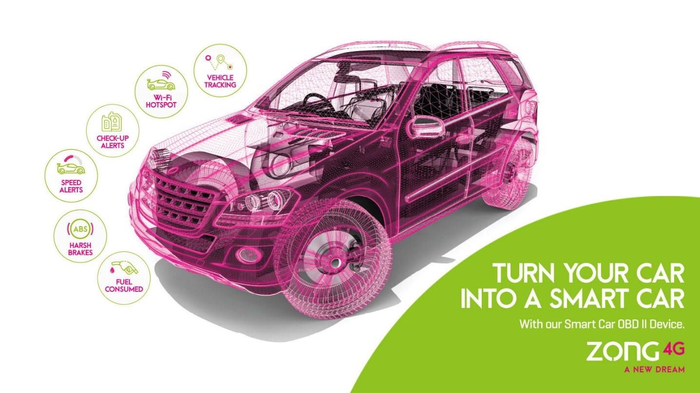 Zong 4G launches Smart Car Solution A new realm of opportunities ' 1
