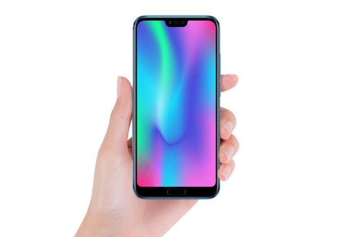 Honor 10 with Notch Honor 10 Launching