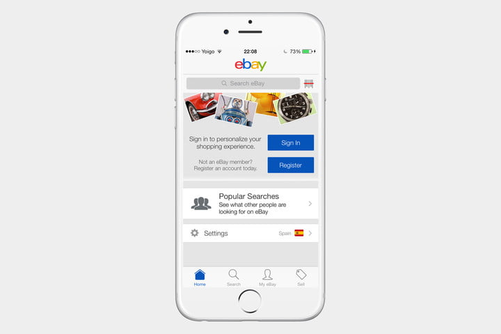 ebay 13 720x720 - The best iPhone apps available right now - Best iPhone Apps 2018