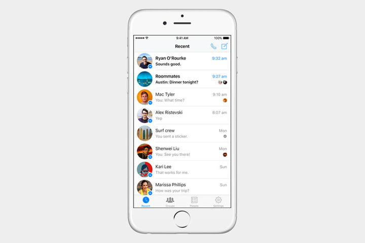 fb messenger 720x720 - The best iPhone apps available right now - Best iPhone Apps 2018