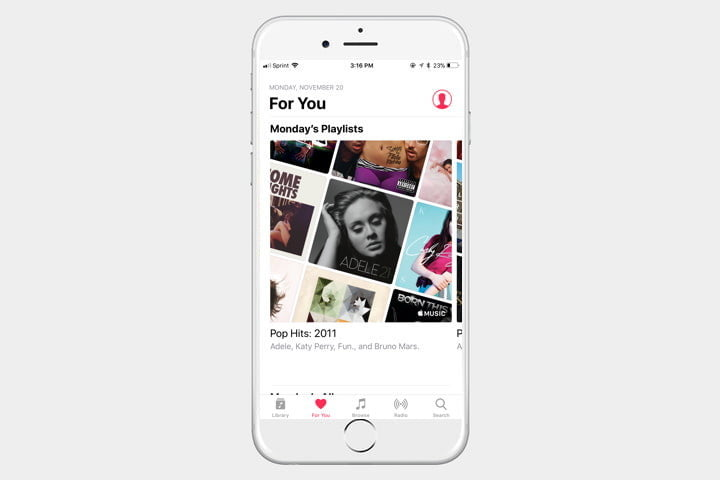 iphone template apple music 720x720 - The best iPhone apps available right now - Best iPhone Apps 2018