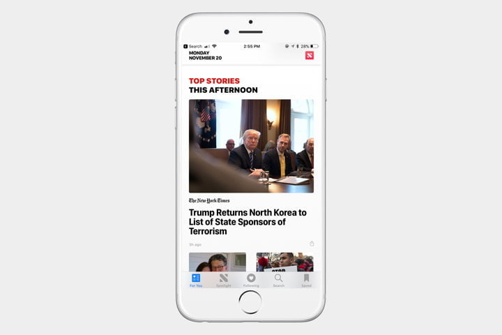 iphone template news app 2 720x720 - The best iPhone apps available right now - Best iPhone Apps 2018