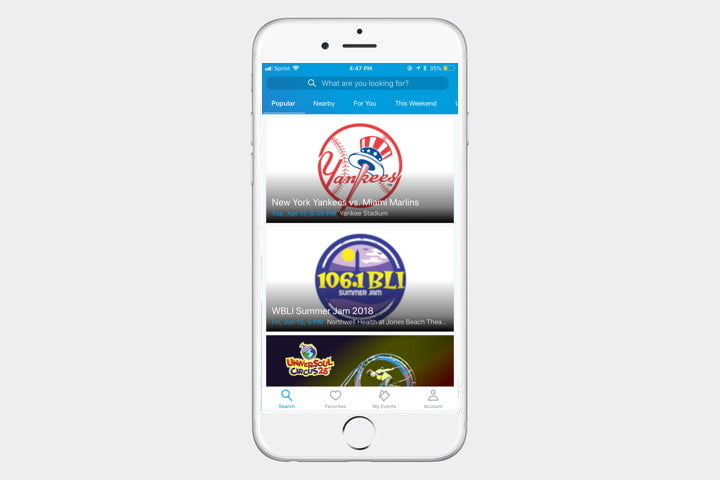ticketmaster template 720x720 1 - The best iPhone apps available right now - Best iPhone Apps 2018