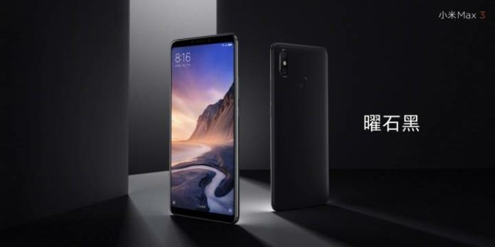 """Xiaomi Mi Max 3 is launched with 6.9"""" screen and Snapdragon 636"""