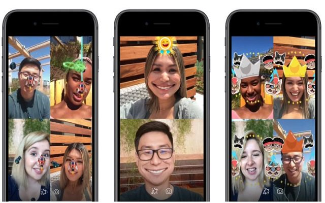 Facebook Messenger with AR games