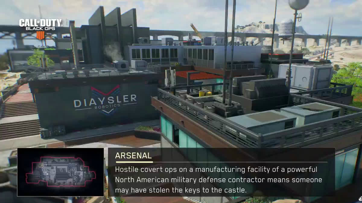 COD Black Ops 4 multiplayer maps
