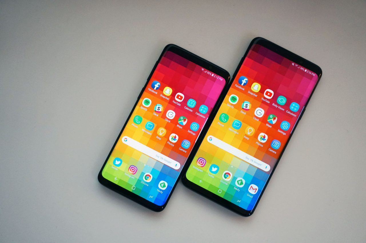 Galaxy S9 and S9+ Android Pie Update
