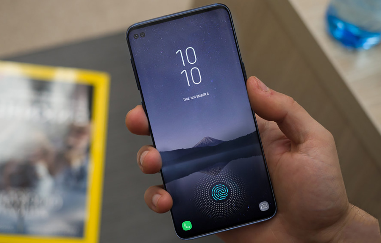 galaxy s10 display