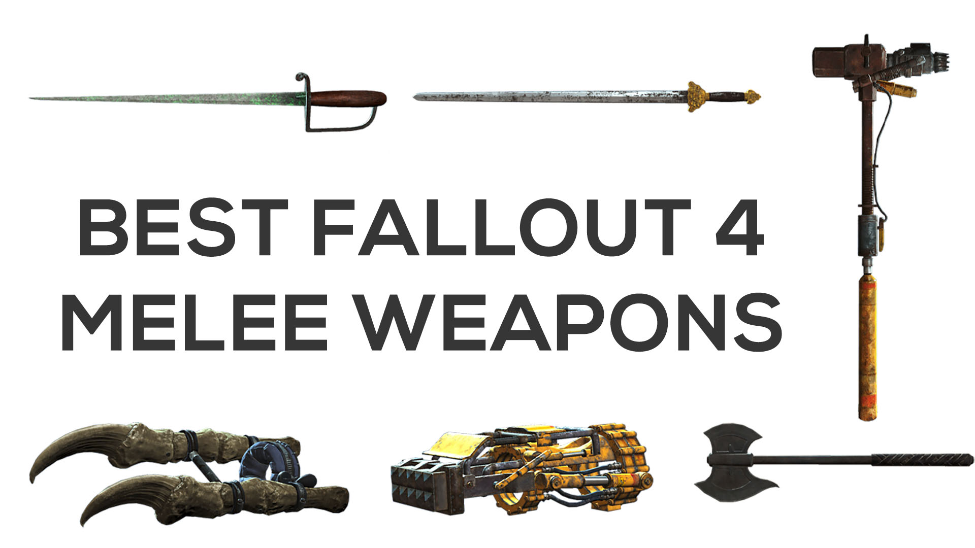 Best Fallout 4 Melee Weapons