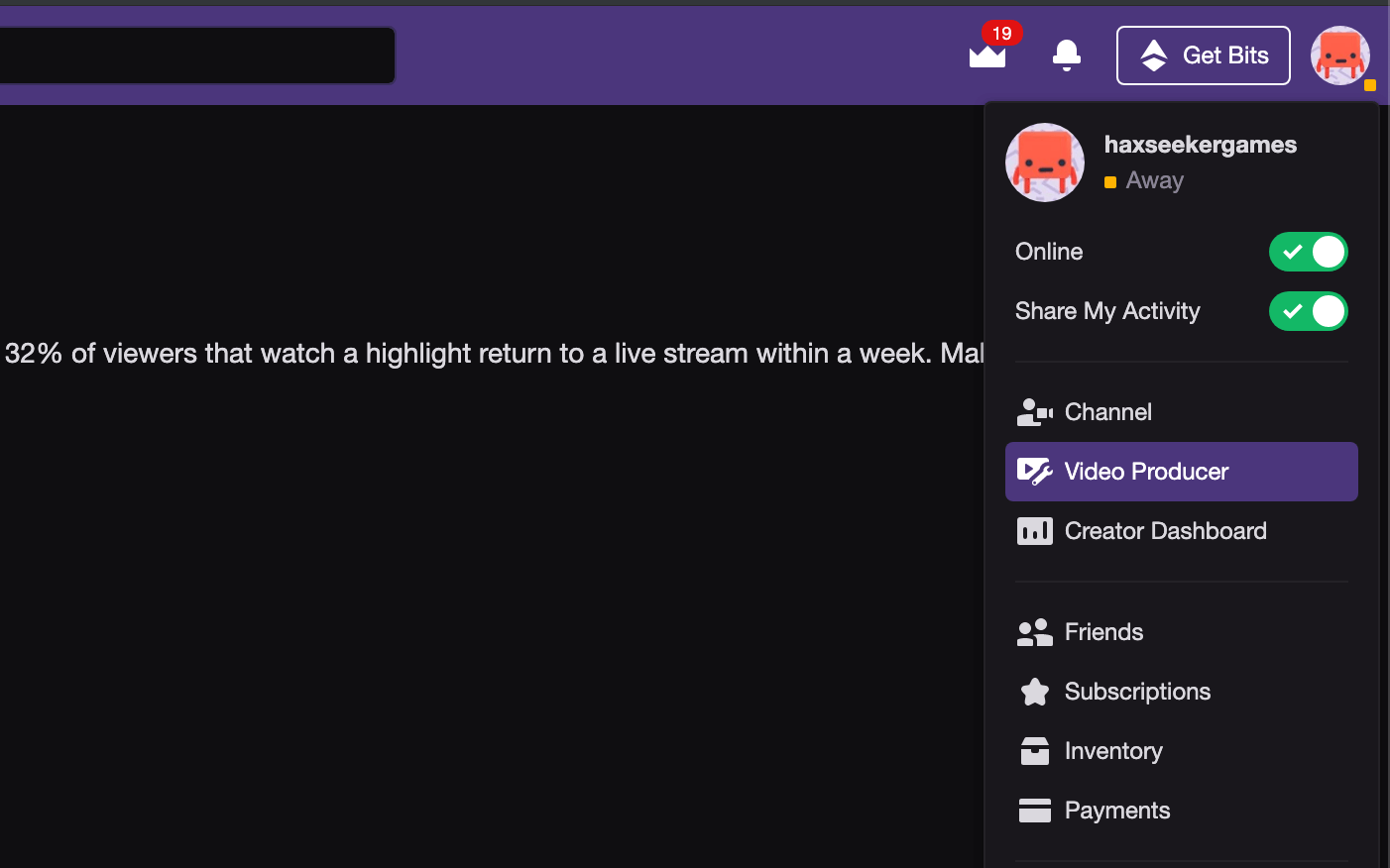 how to download own twitch video