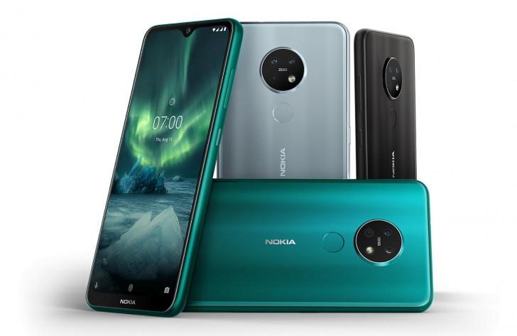 Nokia 7.2 and 6.2