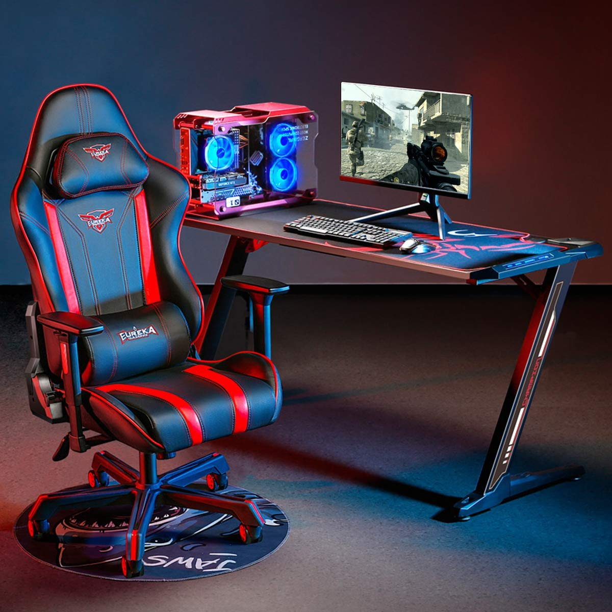 EUREKA ERGONOMIC Z60 Gaming Desk
