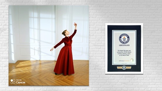 TECNO Camon 15 made history with a New Guinness World Record