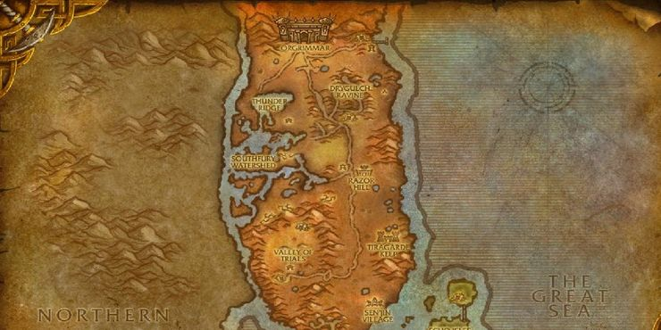 2 - How to Get to Thunder Bluff from Orgrimmar Vanilla | WoW