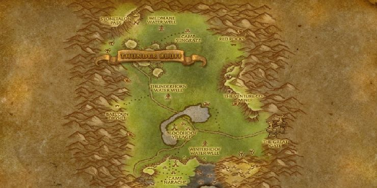 3 - How to Get to Thunder Bluff from Orgrimmar Vanilla | WoW