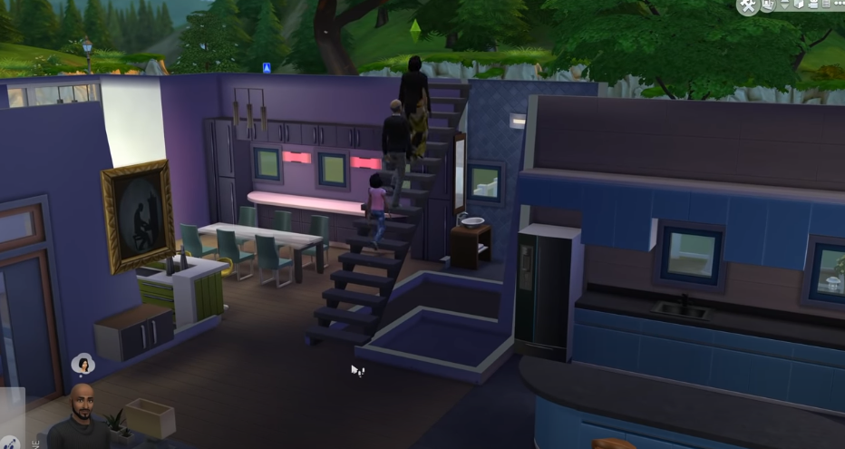 Screenshot 17 - How to Go Upstairs in SIMS 4 or Downstairs [Guide]