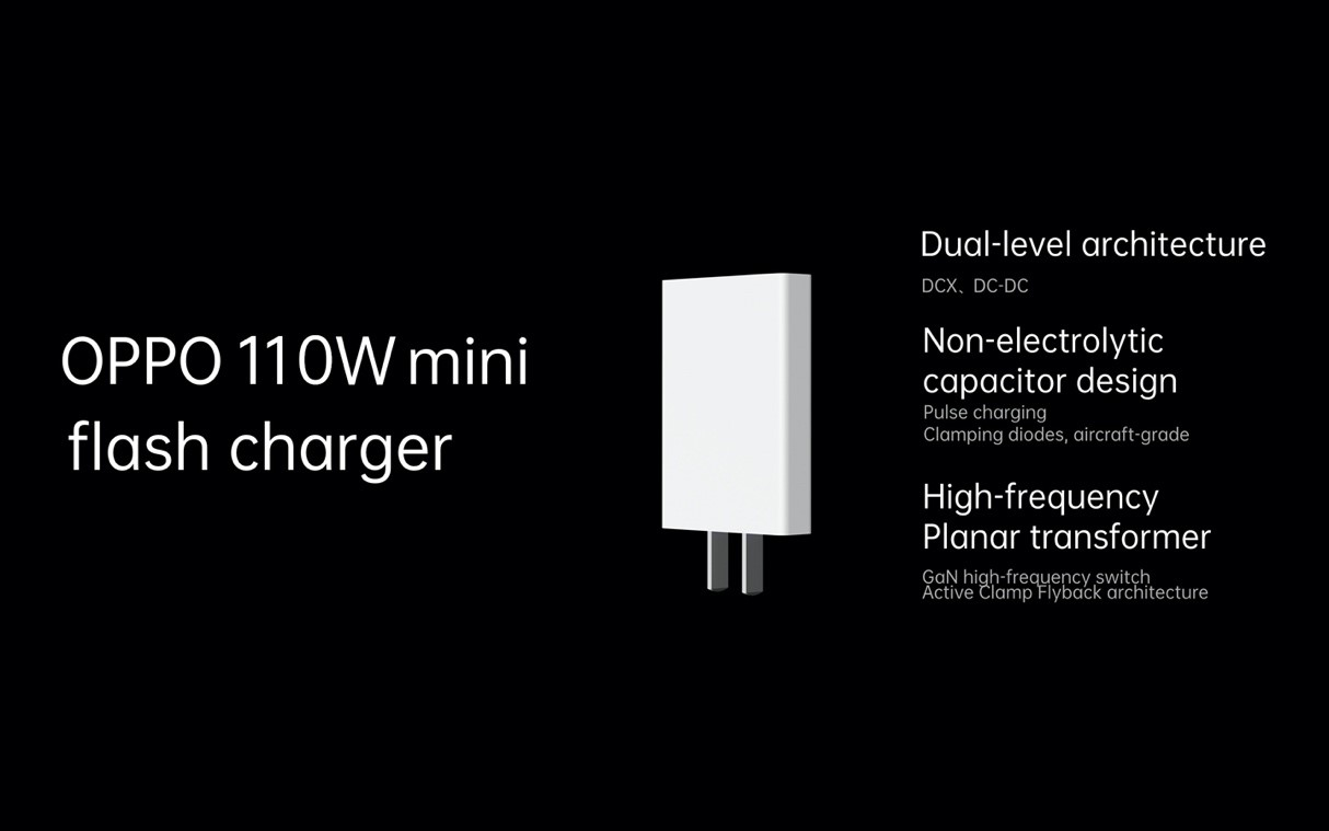 fast 9 - OPPO launches 125W flash charge, 65W AirVOOC wireless flash charge and 50W mini SuperVOOC charger