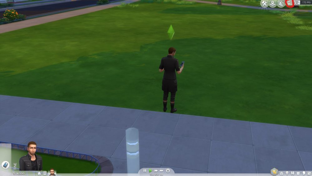 Go Upstairs in Sims 4