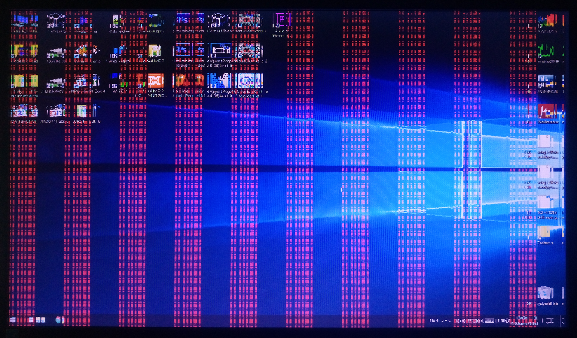 Malfunctioning Graphics Card with Vertical Stripe Lines and Image Artifacts Windows OS - How to Find If Your GPU is Dying | 5 Signs Explained
