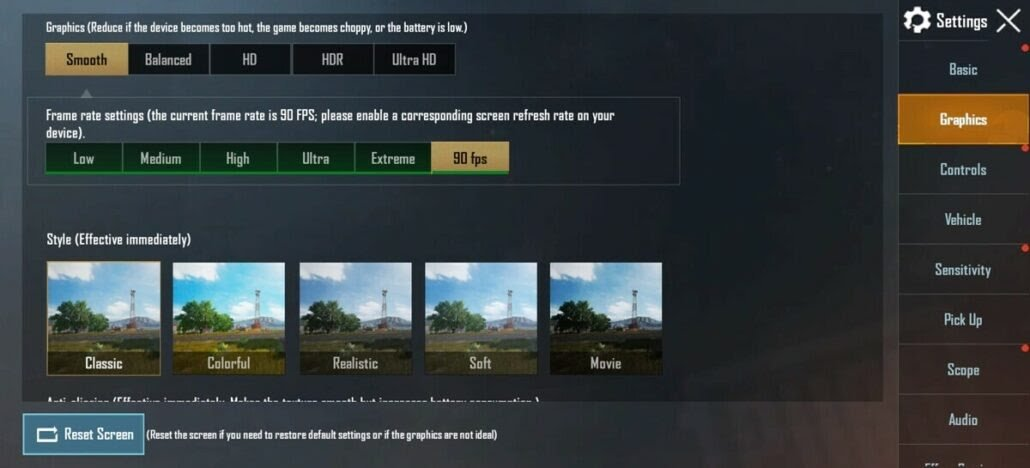 PUBG Mobile 90fps 1030x468 1 - OnePlus Users Can Play PUBG Mobile at 90 FPS