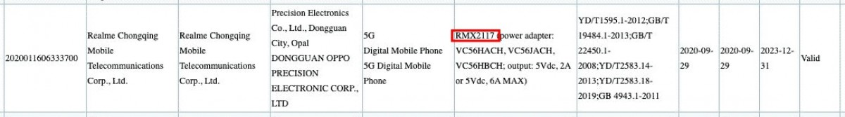 realme q series specs - Upcoming Q-series phone  of realme spotted on 3C database