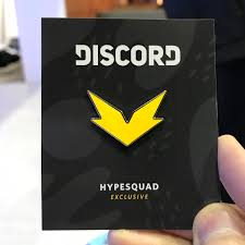 Discord hype squad pin stickers