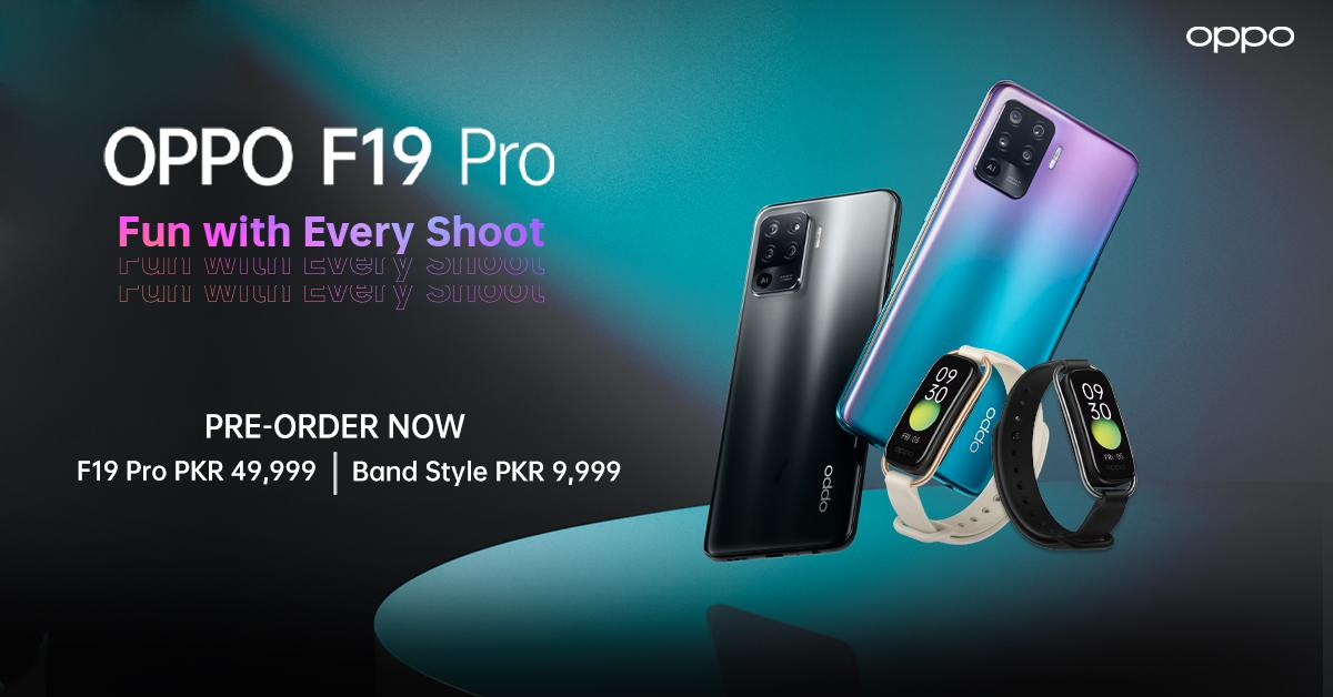 OPPO Launches F19 Pro