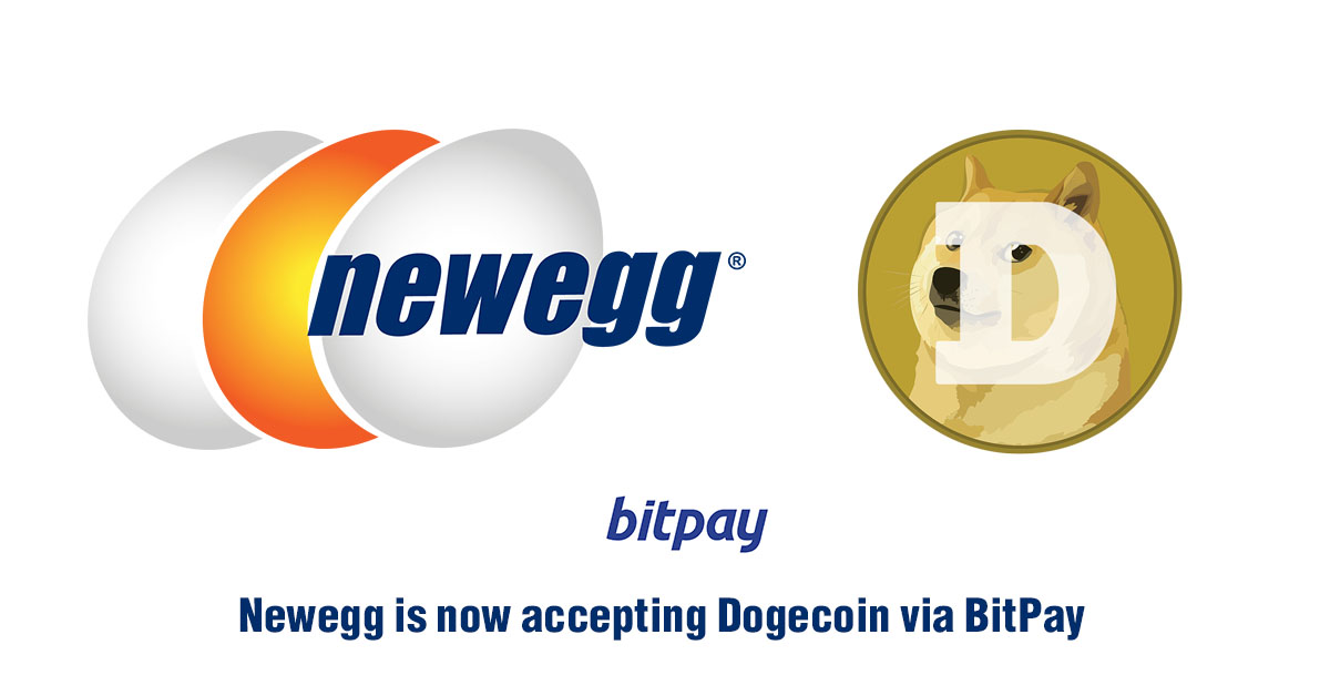 Newegg to Accept Dogecoin As An Official Payment Method